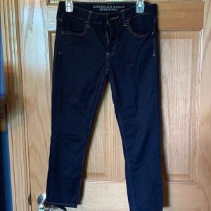 American Eagle cropped jegging size 8